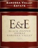 Barossa Valley Estate E&E Black Pepper Shiraz label