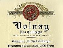 Domaine Michel Lafarge Volnay Premier Cru Les Caillerets label
