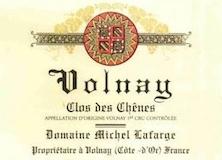 Domaine Michel Lafarge Volnay Premier Cru Clos des Chênes label