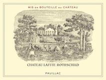 Château Lafite Rothschild  Premier Cru label