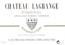 Château Lagrange (Pomerol) Jean-Pierre Moueix  label