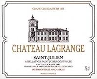 Château Lagrange  Troisième Cru label
