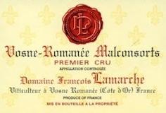 Domaine François Lamarche Vosne-Romanée Premier Cru Aux Malconsorts label