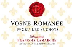 Domaine François Lamarche Vosne-Romanée Premier Cru Les Suchots label