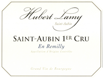 Domaine Hubert Lamy Saint-Aubin Premier Cru En Remilly label