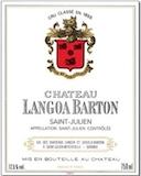 Château Langoa Barton  Troisième Cru label