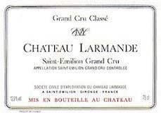 Château Larmande  Grand Cru Classé label