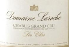Domaine Laroche Chablis Grand Cru Les Clos label