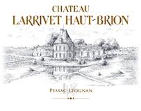 Château Larrivet Haut-Brion  label