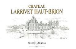 Château Larrivet Haut-Brion Blanc label