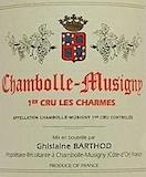 Domaine Ghislaine Barthod Chambolle-Musigny Premier Cru Les Charmes label