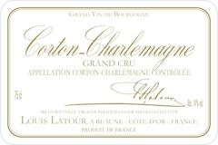 Maison Louis Latour Corton-Charlemagne Grand Cru  label