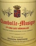 Domaine Ghislaine Barthod Chambolle-Musigny Premier Cru Les Véroilles label