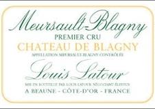 Maison Louis Latour Meursault Premier Cru Château de Blagny label