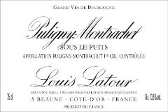 Maison Louis Latour Puligny-Montrachet Premier Cru Sous le Puits label