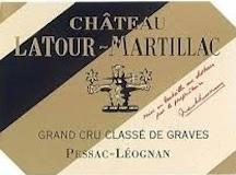 Château Latour-Martillac Rouge Cru Classé de Graves label