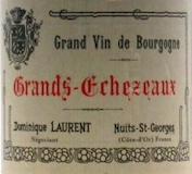 Dominique Laurent Grands Echezeaux Grand Cru  label