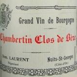 Dominique Laurent Chambertin Clos de Bèze Grand Cru  label