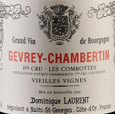 Dominique Laurent Gevrey-Chambertin Premier Cru Aux Combottes label