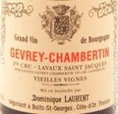 Dominique Laurent Gevrey-Chambertin Lavaux Saint-Jacques Vieilles Vignes label