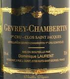 Dominique Laurent Gevrey-Chambertin Premier Cru Clos Saint-Jacques label