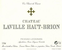 Château Laville Haut-Brion (merged into La Mission Haut-Brion since 2009)  Cru Classé de Graves label