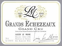 Lucien Le Moine Grands Echezeaux Grand Cru  label