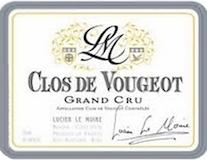 Lucien Le Moine Clos de Vougeot Grand Cru  label