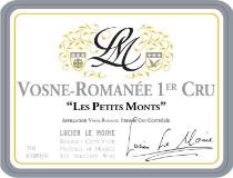 Lucien Le Moine Vosne-Romanée Premier Cru Les Petits Monts label
