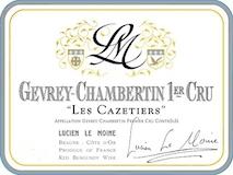 Lucien Le Moine Gevrey-Chambertin Premier Cru Les Cazetiers label