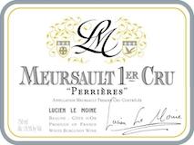 Lucien Le Moine Meursault Premier Cru Perrières label