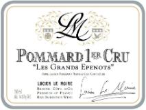 Lucien Le Moine Pommard Premier Cru Les Grands Epenots label