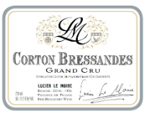 Lucien Le Moine Corton Grand Cru Bressandes label