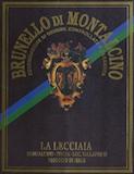 Fattoria La Lecciaia Brunello di Montalcino  label