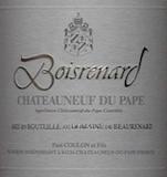 Domaine de Beaurenard Châteauneuf-du-Pape Boisrenard label