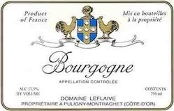 Domaine Leflaive Bourgogne Blanc label