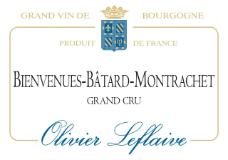 Olivier Leflaive Bienvenues-Bâtard-Montrachet Grand Cru  label