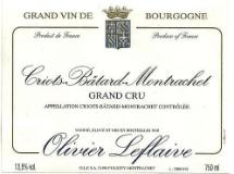 Olivier Leflaive Criots-Bâtard-Montrachet Grand Cru  label