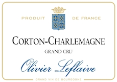 Olivier Leflaive Corton-Charlemagne Grand Cru  label