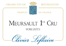 Olivier Leflaive Meursault Premier Cru Poruzots label
