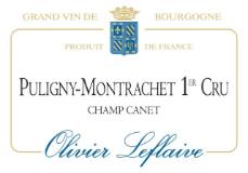 Olivier Leflaive Puligny-Montrachet Premier Cru Champ Canet label