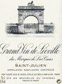 Château Léoville Las Cases  Deuxième Cru label