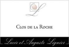 Lucie et Auguste Lignier Clos de la Roche Grand Cru  label