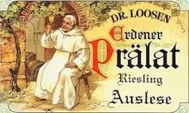 Dr. Loosen Erdener Prälat Riesling Auslese Goldkapsel label
