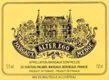 Château Palmer Alter Ego label