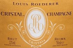 Louis Roederer Cristal label