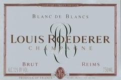Louis Roederer Blanc de Blancs label