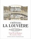 Château La Louvière  label
