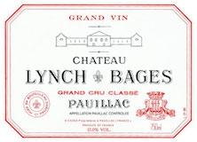 Château Lynch-Bages  Cinquième Cru label