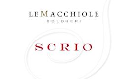 Le Macchiole Scrio label